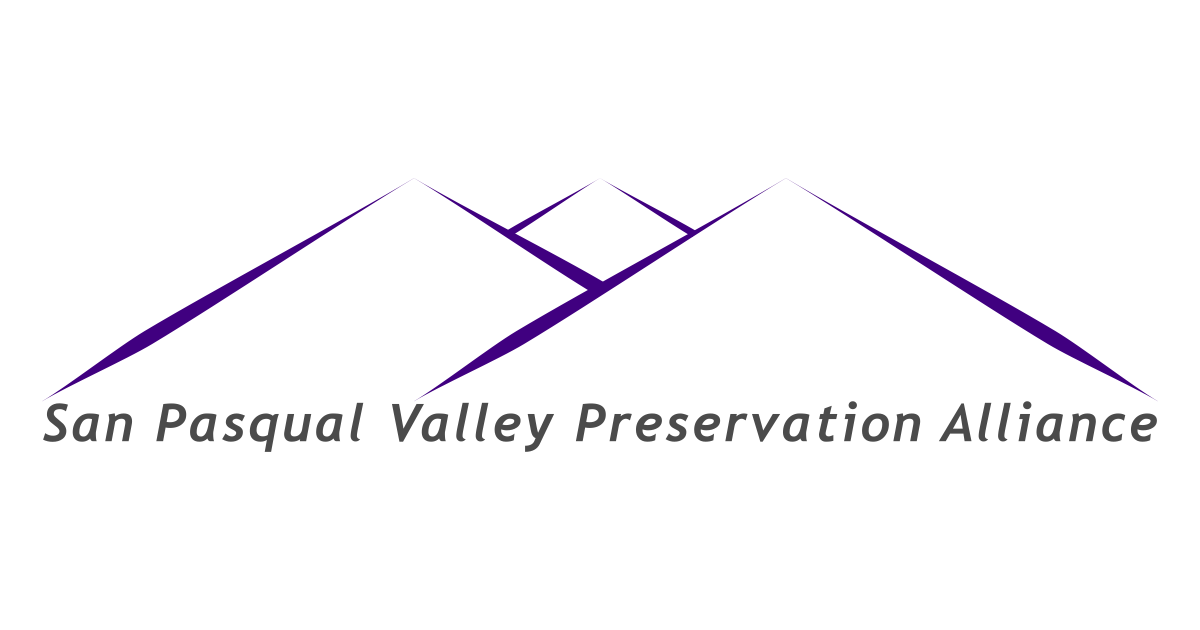 San Pasqual Valley Preservation Alliance